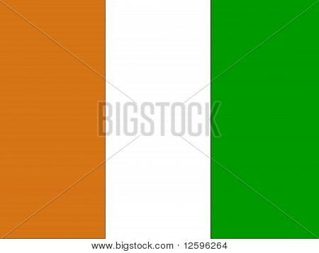 Cote d'Ivoire National Flag
