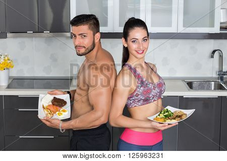 Fit Couple - Animal Versus Plant Proteins