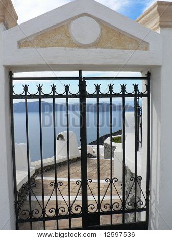 Santorini Gate to Privacy