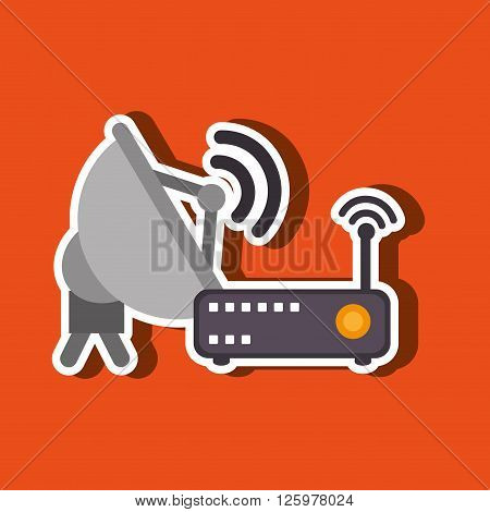 computer technology design, vector illustration eps10 graphic
