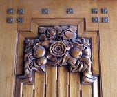 Art Deco Door Panel