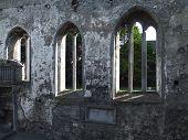 Historic Church Windows poster