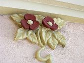 Decorative Art Deco Flowers