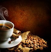 picture of coffee-cup  - Coffee - JPG