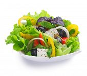 stock photo of healthy food  - Healthy Salad - JPG