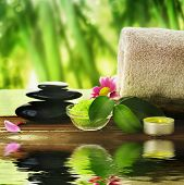 stock photo of aromatic  - Spa treatment - JPG