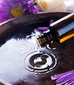 stock photo of essential oil  - Aromatherapy - JPG