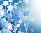 picture of christmas star  - Christmas decoration - JPG