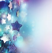 stock photo of christmas star  - Christmas background - JPG