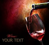picture of red wine  - Wine - JPG