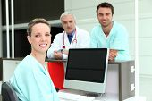 pic of medical assistant  - Medical Team - JPG
