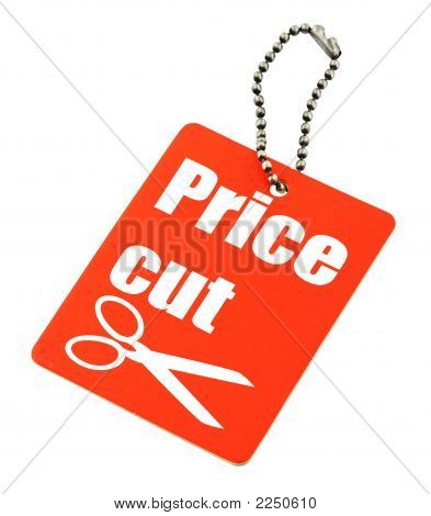 Price Cut Tag