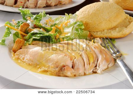 Sliced Chicken Breast