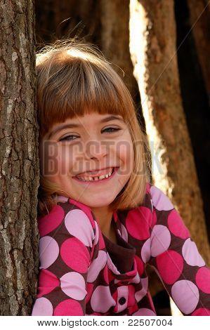 Niño sonriente