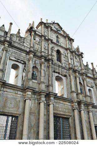 Saint Paul church in Macao