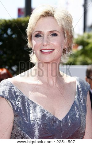 LOS ANGELES - AUG 21: Jane Lynch at the 62nd Primetime Creative Arts Emmy Awards at the Nokia Theatre L.A. Live in Los Angeles, California on August 21, 2010