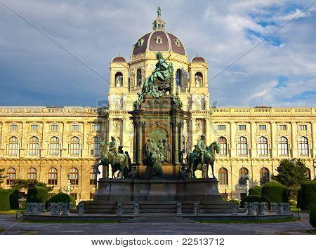 Estátua de Maria Theresa