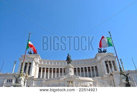 Monument To Vittorio Emanuele