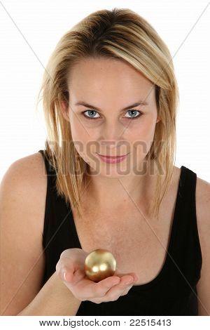 Golden Egg Metaphor Concept