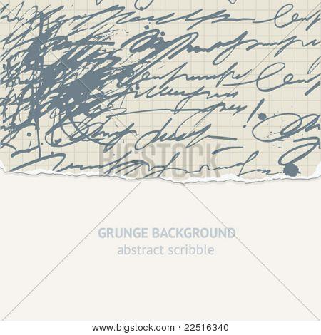 vector scribble background