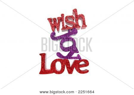 Love joy wish