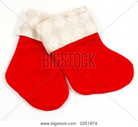 Pair Of Xmas Stockings