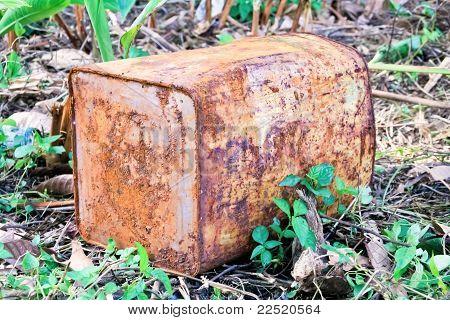 Rusting Tank