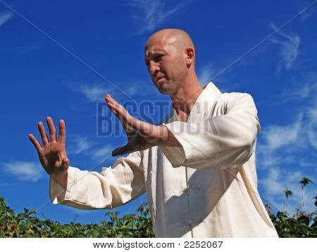 Man Doing Tai Chi 2