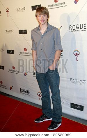 LOS ANGELES - JUN 14: Sterling Knight at the Rock-N-Reel event held at Culver Studios in Los Angeles, California on June 14, 2009