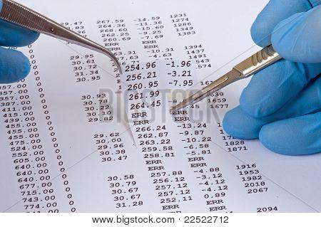 data analysis dissection