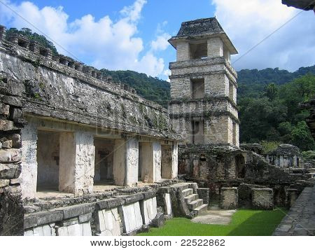Mexico - Chol Maya Palenque ruins