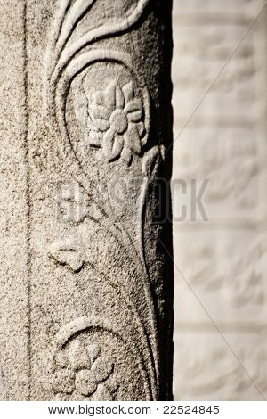 Example of a tombstone ornamentation