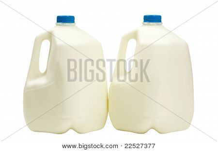 Milk in 2 Containers