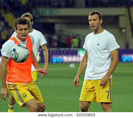 Ukraine - Sweden Teams Football Match