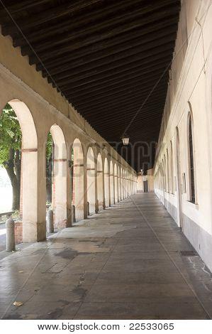 Sanctuary Of Caravaggio (bergamo, Lombardy, Italy), Portico