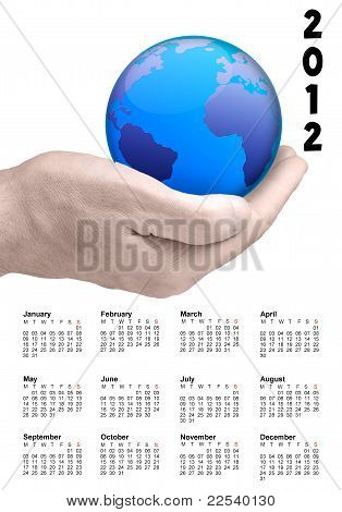 World In My Hand 2012 Calendar