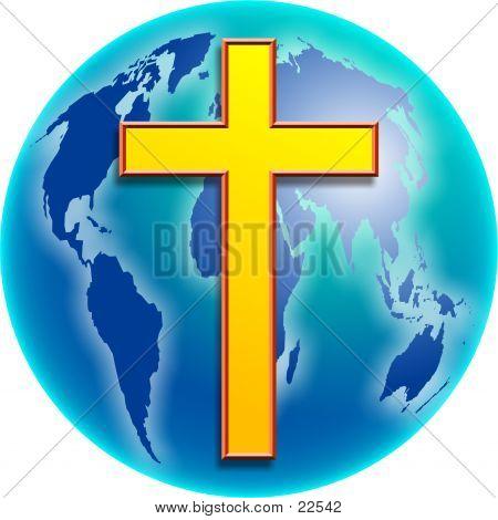 Erde Kreuz