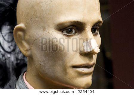 Injured Mannequin