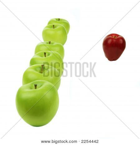 Line Of Apples