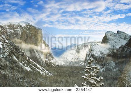 Yosemite Tunnelansicht