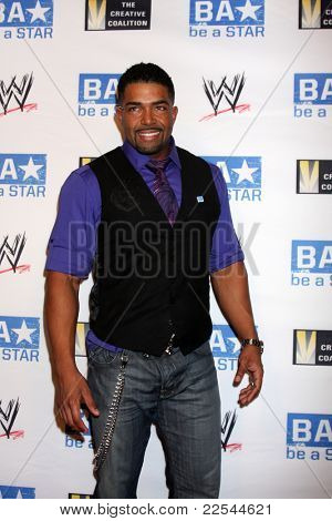 LOS ANGELES - AUG 11:  David Otunga arriving at the