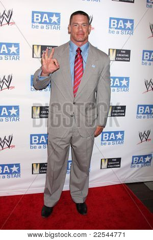 LOS ANGELES - AUG 11:  John Cena arriving at the