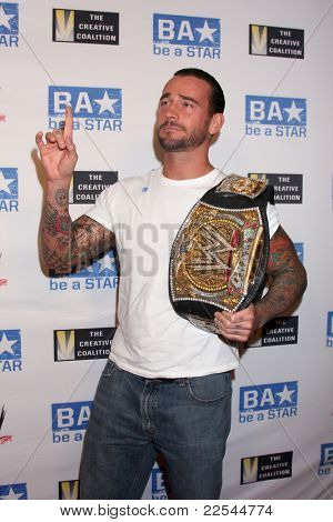 LOS ANGELES - AUG 11: phillip jack brooks aka cm punk  arriving at the