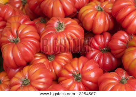 Tomatoes At Farmer'S Market