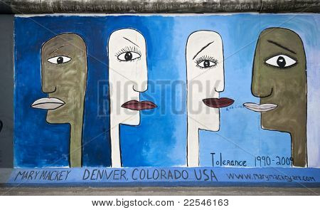 Tolerance On Berlin Wall