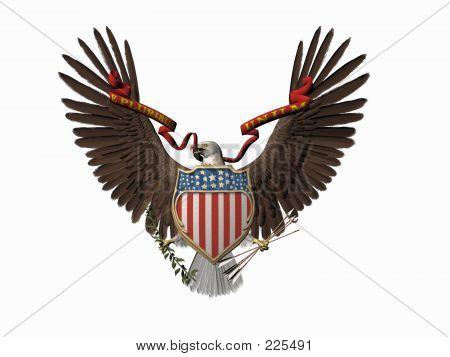 American Great Seal, E Pluribus Unum.