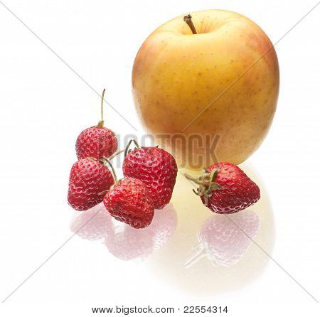 Delicious Strawberry And Apple