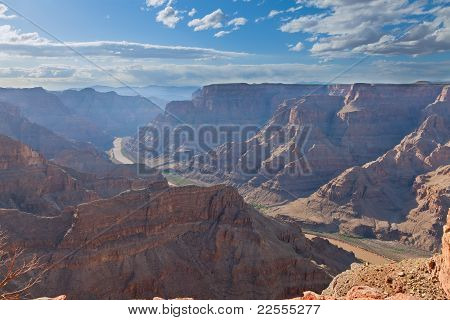 Grand Canyon With Colorado River View