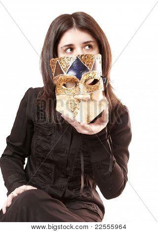 Venetian Mask Woman