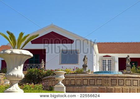 Greek traditional house